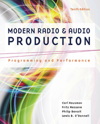 Modern radio and audio production